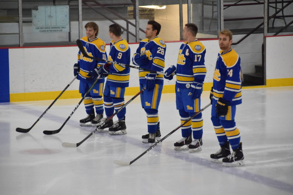 The Pitt Panthers snapped their seven game losing streak with a weekend  sweep of Duquesne and IUP Friday and Saturday night at Alpha Ice Complex --  ED MAJOR ... e9fb7d799f6